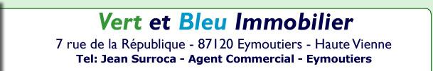 Vert et bleu immobilier agence immobiliere limousin eymoutiers vert bleu - Vert et bleu immobilier ...